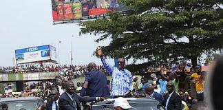 retour dupresident Apha condé